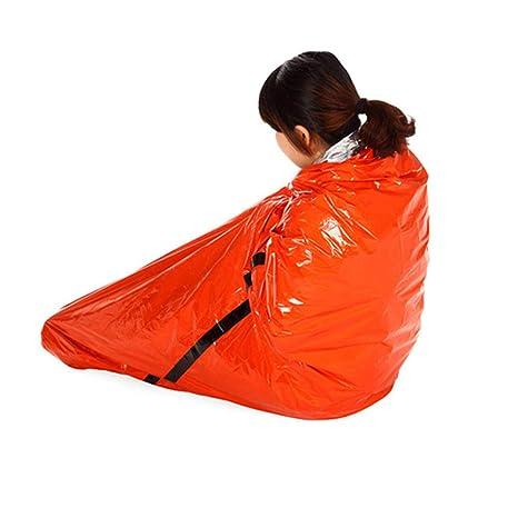 Blackr Saco de Dormir portátil multifunción para emergencias, Rescate térmico, Acampada, Senderismo,