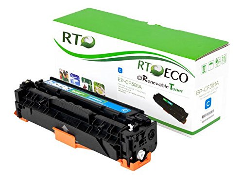 Renewable Toner HP 312A CF381A Cyan Toner Cartridge 2.7k Yield for HP Color LaserJet Pro MFP M476nw MFP M476dw MFP M476dn