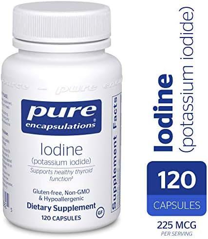 Potassium Iodide 120 Veggie Caps