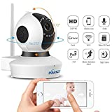 Puersit Wifi Wireless Security Cameras C7823 720P HD Pan Tilt IP Camera (Day/Night Vision,baby monitor,2 Way Audio,SD Card Slot, Alarm)