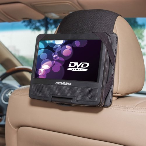 (TFY Car Headrest Mount for Sylvania SDVD7027-C 7 Inch Portable DVD Player)