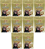 Marshall Bandits Ferret Treat Peanut Butter 1.875lbs (10 x 3oz)
