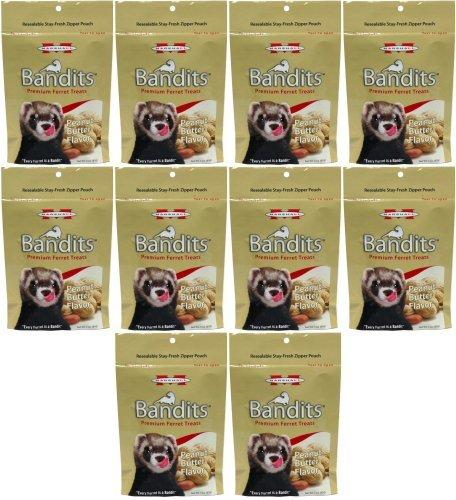 Marshall Bandits Ferret Treat Peanut Butter 1.875lbs (10 x 3oz)