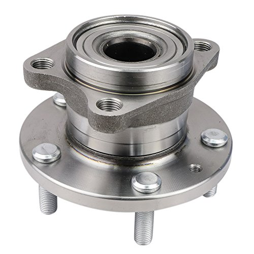 (CRS NT930770 New Wheel Bearing Hub Assembly, Rear Left (Driver)/ Right (Passenger) Side, for 2007-2015 Mazda CX-9, AWD )