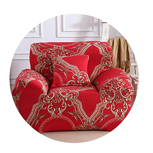 ZFADDS New Stretch Sofa Cover Elastic Lion Sofa Covers for Living Room Loveseat Furniture Covers Slipcovers Sofa Set 1Pc,Color 13,2-Seater(145-185Cm) (Covers Furniture Outdoor Nz)