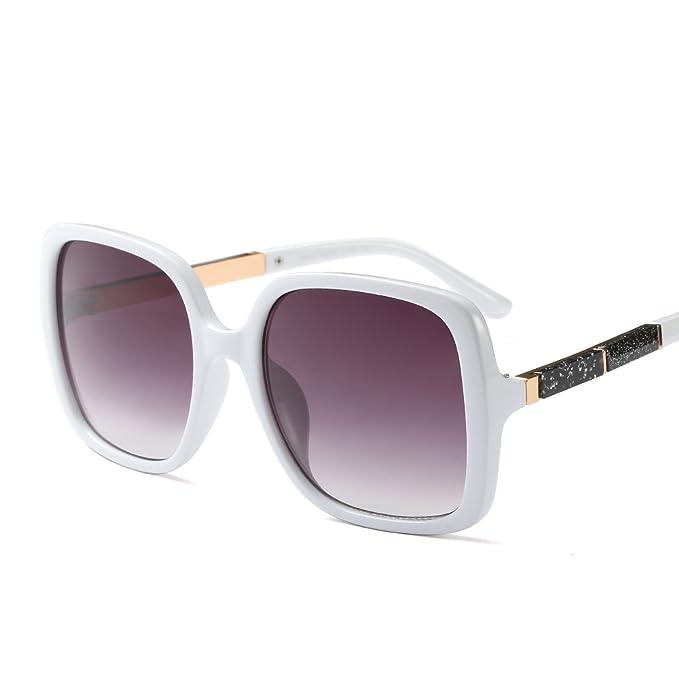 Feicuan Gafas de sol Mujer Moda Grandes Cuadrado UV400 ...