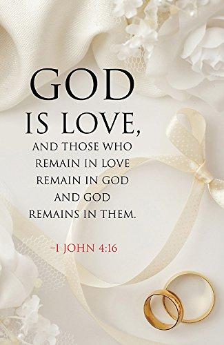 God Is Love Wedding Bulletin (Pkg of 50)]()
