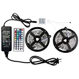 WenTop Led Light Strip Kit DC12V UL Listed Power Supply SMD 5050 32.8