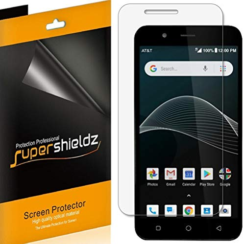 (6 Pack) Supershieldz for Cricket Vision Screen Protector, High Definition Clear Shield - Screen Protector Cricket
