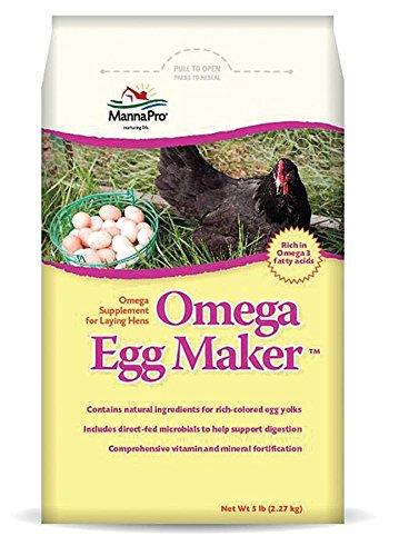 Manna Pro Omega Egg Maker Supplement, 5 (Supplements Poultry)