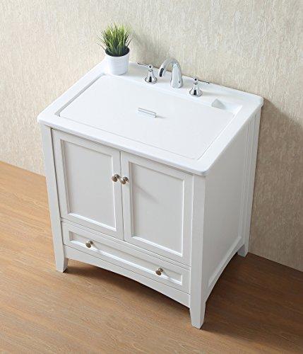Stufurhome GM-Y01W 30.5-Inch Pure White Single Laundry Sink by Stufurhome (Image #12)