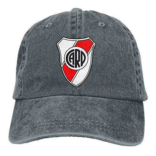 RT-YQQO River Plate Soccer Unisex Adjustable Cowboy Cap Trucker Cap Baseball Cap
