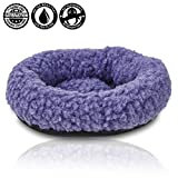 "Toys : For Hatchimals - EggHead Bed Nest Nesting 6.5"" Fleece Egg Holder Accessories- For Use With All Hatchimals Eggs - Purple"