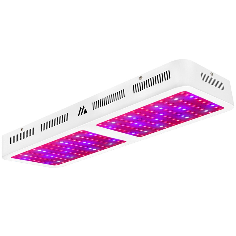 Dimgogo 2000w Double Chips LED Grow Light Full Spectrum Grow Lamp for Greenhouse and Hydroponic Indoor Plants Veg and Flower (10w Leds) by Dimgogo