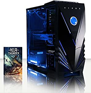 VIBOX Sniper 10 10 - 4.0GHz Intel i7 Quad Core CPU, GTX 970 GPU, Extreme, Water Cooled, Desktop Gaming PC Computer with 2 Game Bundle, Blue Internal Lighting and Lifetime Warranty* (3.6GHz (4.0GHz Turbo) Super Fast Intel i7 4790 Quad 4-Core CPU Haswell Advanced Processor, Nvidia Geforce GTX 970 4GB High Performance Graphics Card GPU, 16GB DDR3 1600MHz RAM, 120GB Solid State Drive SSD, 1TB Hard Drive, Coolermaster 120V-R2 Liquid Cooler, Vibox Blue Case, No Operating System Installed)