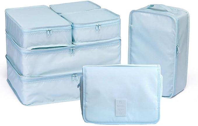 Amazon.com: JJ POWER - Juego de 7 cubos de embalaje de viaje ...