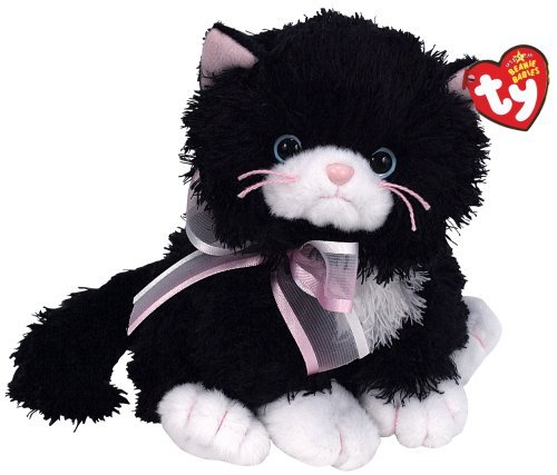 Ty Beanie Babies Cabaret  Black and White Cat by Ty