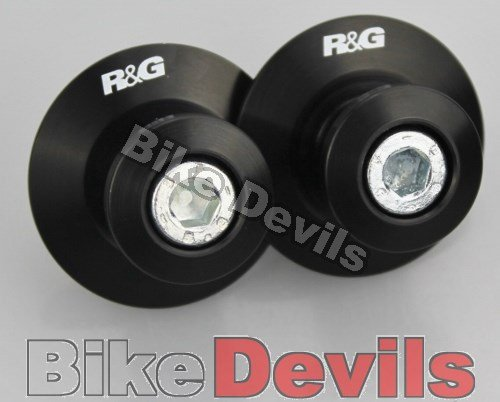 R&G RACING ELEVATION SERIES PADDOCK STAND BOBBINS M8 BLACK - ITBO002BK Various Manufacturers
