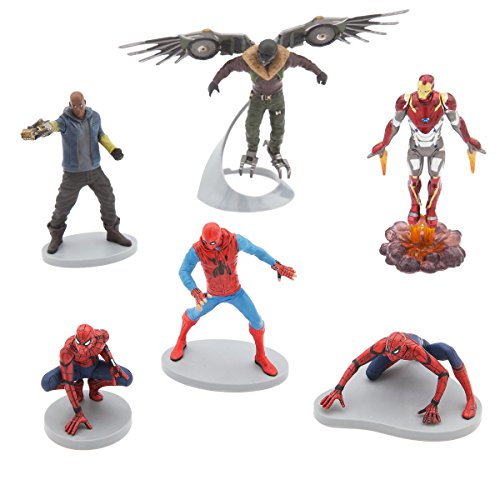 Spider Man Figurine (Marvel Spider-Man Homecoming Figurine Set)
