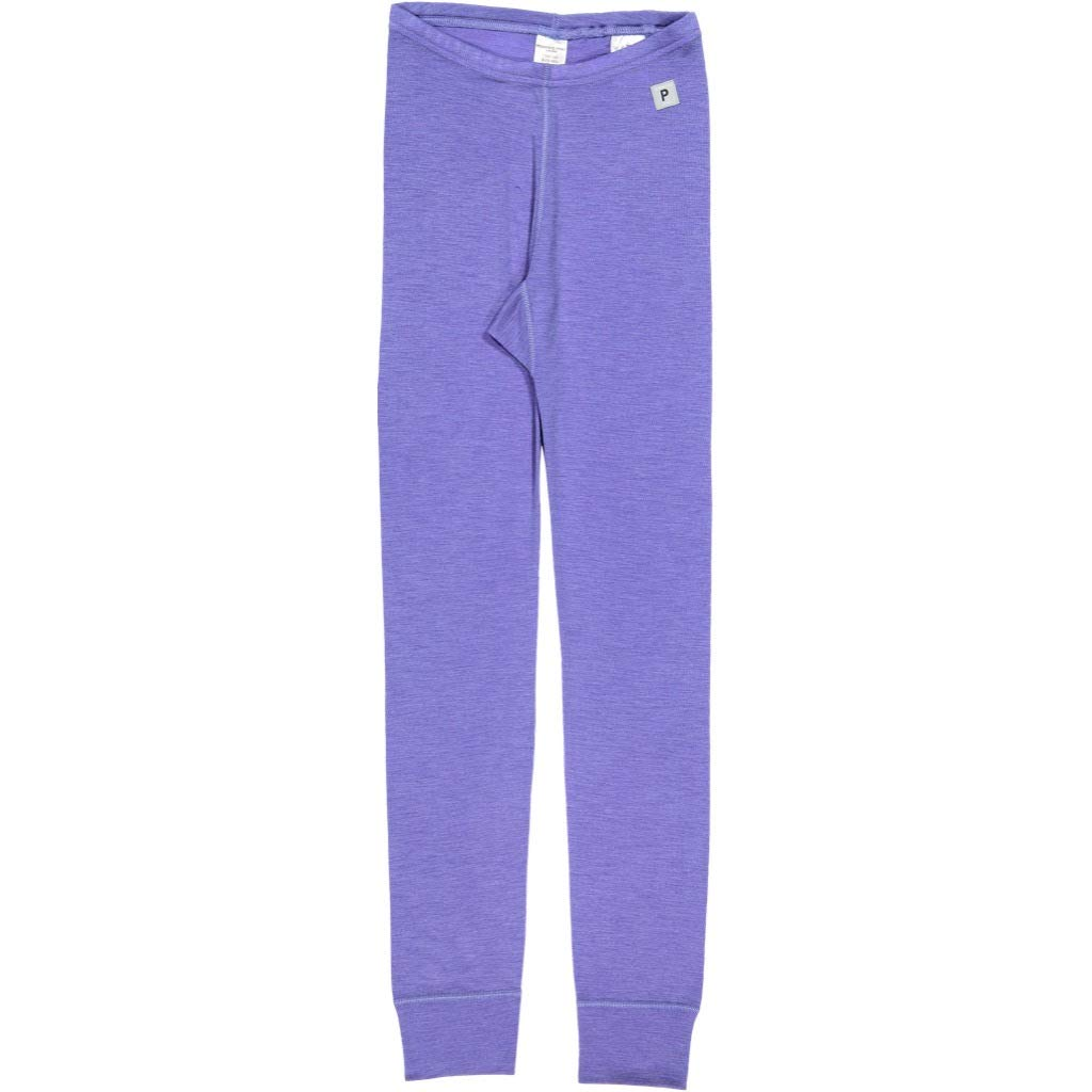 Polarn O. Pyret Merino Wool Leggings (6-12YRS) - Aster Purple/10-12 Years by Polarn O. Pyret