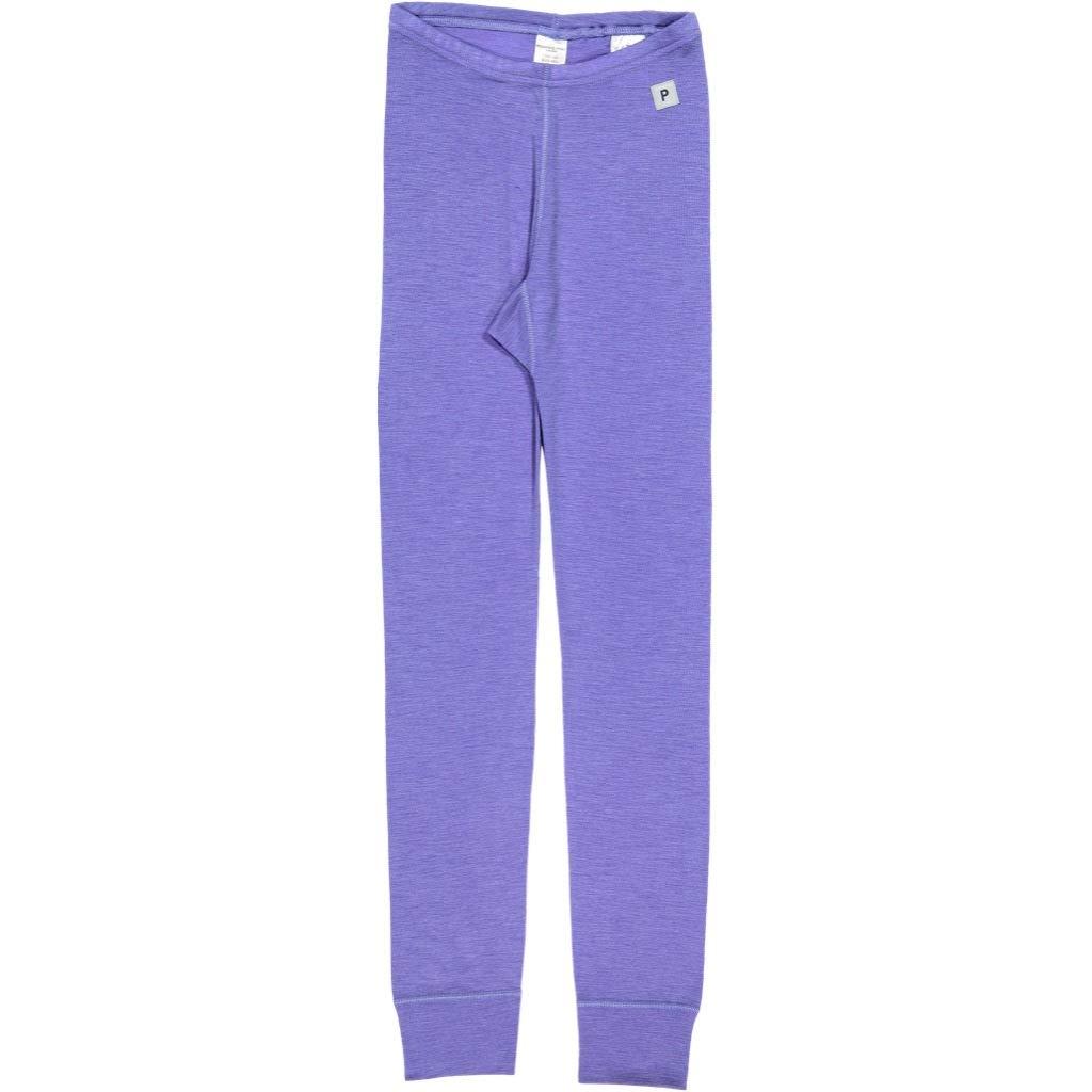 Polarn O. Pyret Merino Wool Leggings (6-12YRS) - Aster Purple/8-10 Years by Polarn O. Pyret