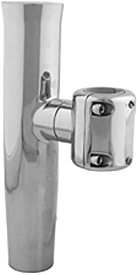 Stainless Steel Adjustable T-Top Rod Holder (for 1-1/16