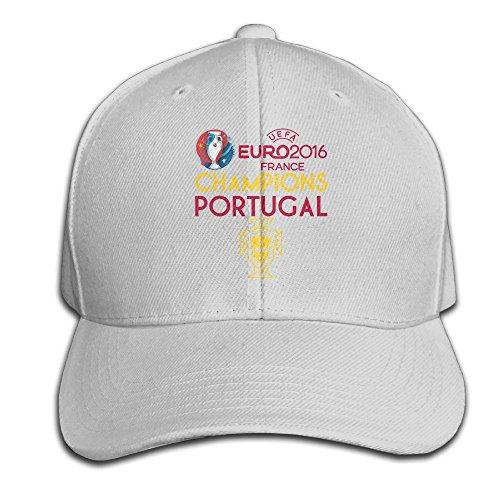 Cricket World Cup Adjustable Cap (Runy Portugal 2016 Soccer Champion Adjustable Hunting Peak Hat & Cap Ash)