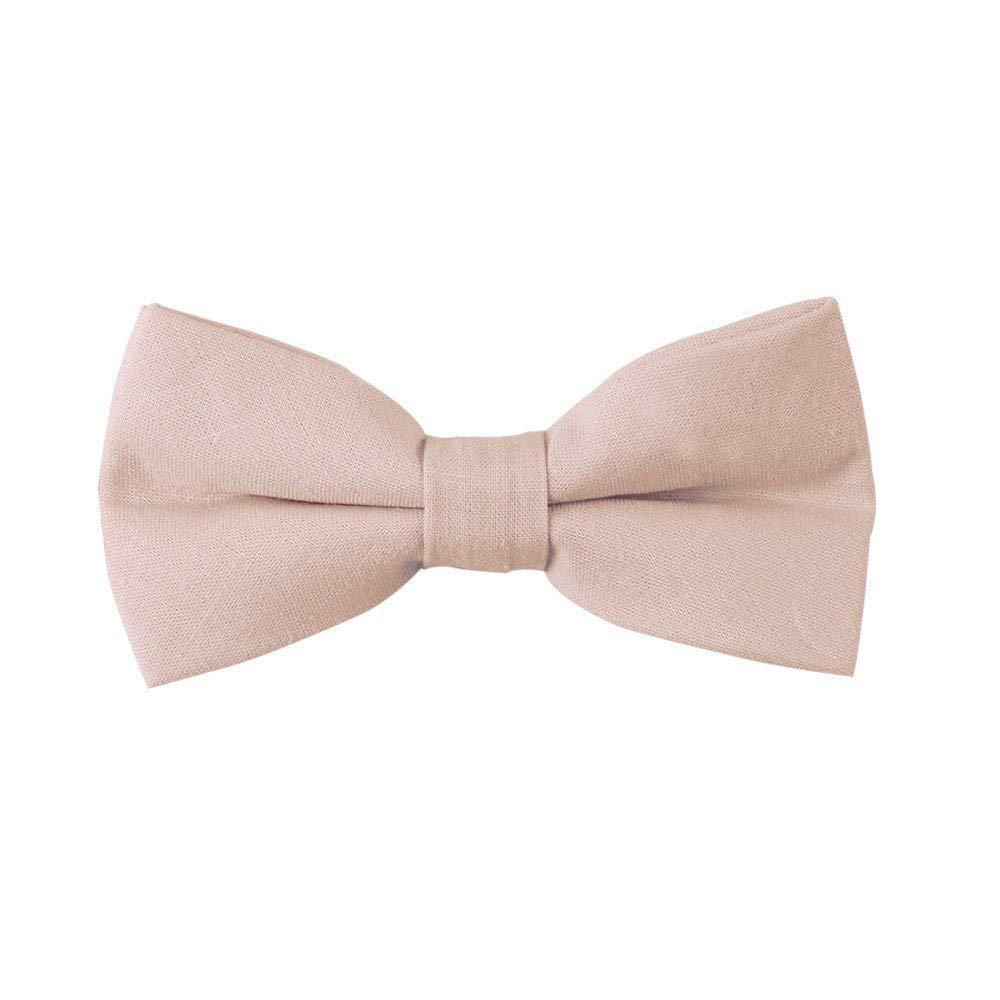 AUSCUFFLINKS Corbatas de lino beige corbatas de lino | pajaritas ...