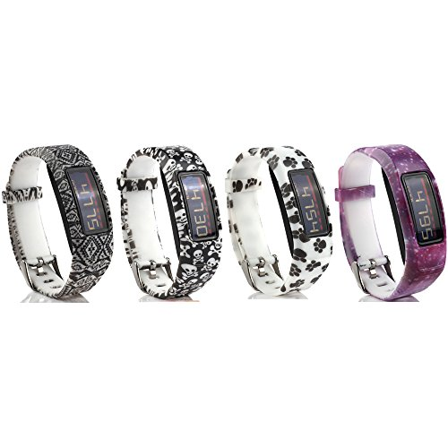 Cute Silicone Replacement Watchband 4-in-1 Wristband Bracele