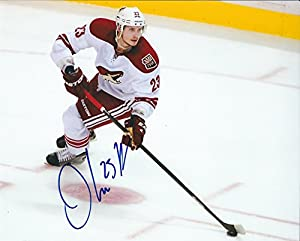 Autographed Oliver Ekman-Larsson 8x10 Arizona Coyotes Photo
