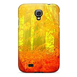 For Galaxy S4 Protector Case Fall Forest Bright Phone Cover