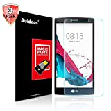 LG G4 Screen Protector,Auideas LG G4 Tempered Glass Screen Protector for LG G4 [3-Pack] [Lifetime Warranty]