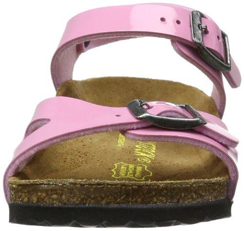 Birkenstock Rio - Sandalias de vestir para niñas Rosa (Cashmere Rose)