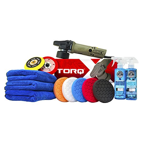 Chemical Guys BUF_209X Complete Detailing Kit (13 Items, TORQ TORQX)