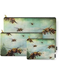 Society6 Crown Of Bees Carry-All Pouch