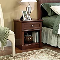 Sauder Palladia Night Stand, Select Cherry