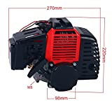 Yaegoo Complete 49cc 2 Stroke Engine Motor for Mini Pocket Bike Gas G-Scooter ATV Quad Bicycle