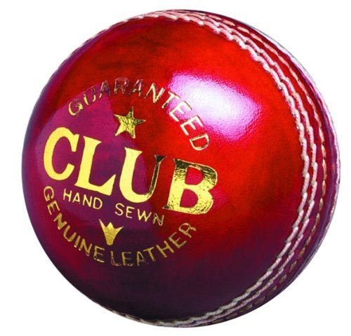 Readers Club Hand Stitched Leather Senior Cricket Ball 5.5oz by Readers