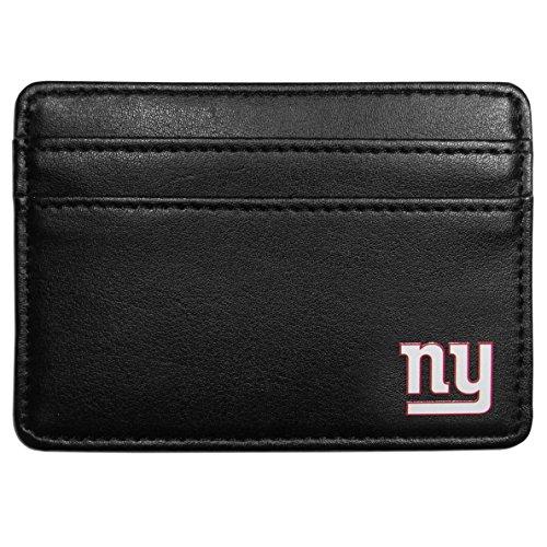 Siskiyou NFL New York Giants Weekend Wallet, Black (Weekend New York Leather)
