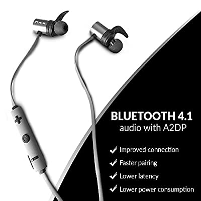 Wireless Bluetooth Waterproof Headphones | Mini Sport Earbuds for Running, Jogging, Cycling, Hiking | Magnetic Hands-Free Earphones | Super Lightweight and Extremely Stable