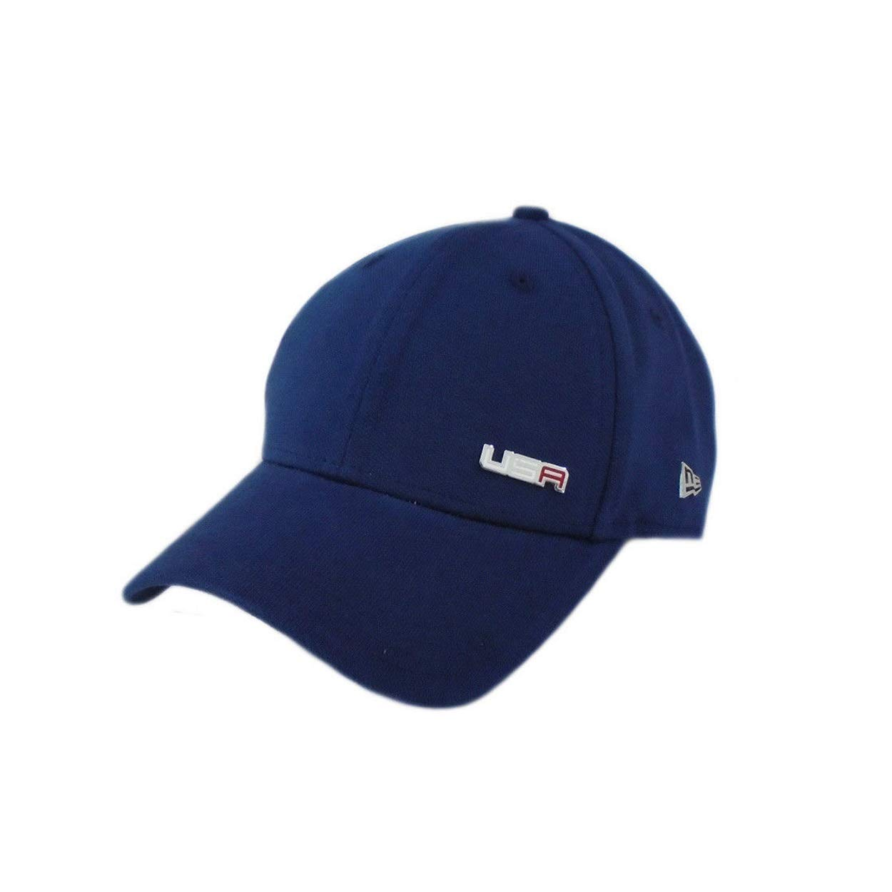 2acf6d71a89 Amazon.com   New Era New 2018 Captain 9Forty USA Ryder Cup Saturday Round  Adjustable Hat Cap   Sports   Outdoors
