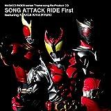Masked Rider series Theme song Re-Product CD SONG ATTACK RIDE First featuring KUUGA KIVA RYUKI