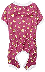 East Side Collection ZM3869 16 14 Monkey Business Pajama for Dogs, Medium, Tiff