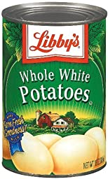 Libby\'s Whole White Potatoes 15oz Cans (Pack of 6)