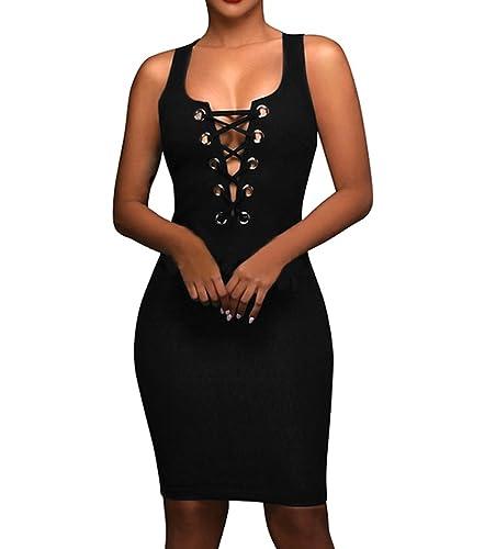 Aierbulu Womens Club Dress Hol...
