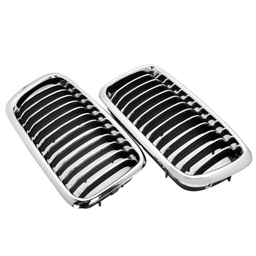 Price comparison product image Chrome Euro Front Center Kidney Grille For BMW E38 4 Door Sedan 740i 740iL 750iL 1995 1996 1997 1998 1999 2000 2001