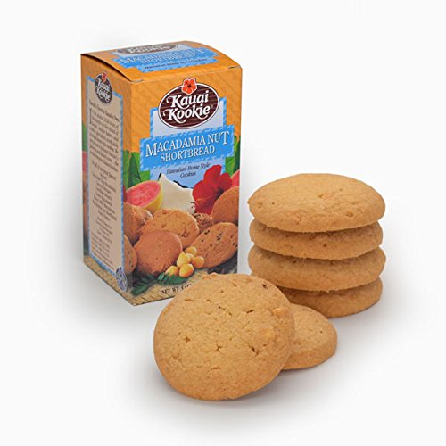 Hawaiian Kauai Kookie Home Style Cookies 5oz (Macadamia Nut) ()