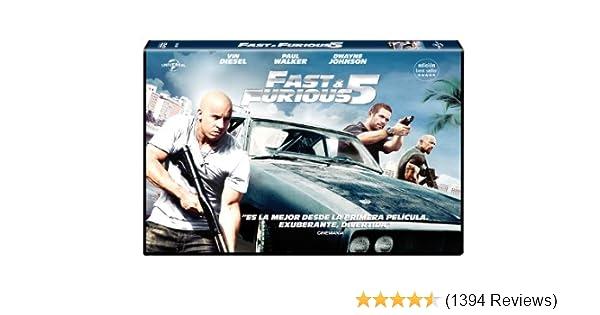 Amazon.com: Fast & Furious 5 - Edición Horizontal (Import ...