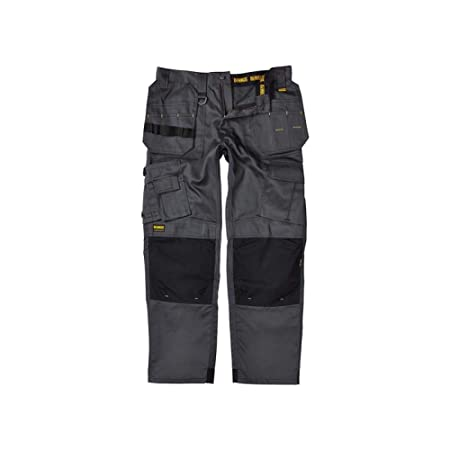 e5c55c75c5 DeWalt Men's Polycotton Pro Tradesman Work Trouser - Black, 34W x 29L:  Amazon.co.uk: DIY & Tools