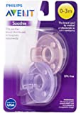 Philips Avent BPA Free Soothie Pacifier, 0-3 Months, 2 Pack, Packaging May Vary